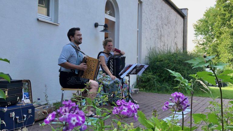 Johannes Sift und Annette Riessner im studioRose