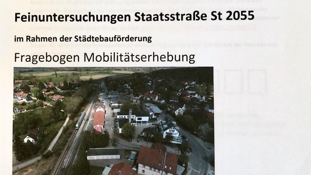 Fragebogen Mobilitätserhebung