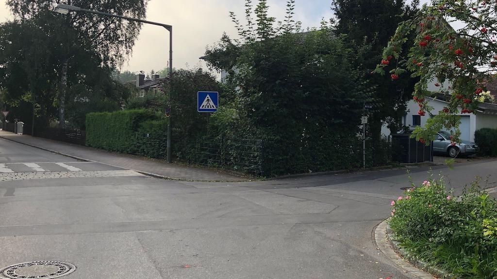 Radverkehrsfuehrung Schondorf Gartenstrasse