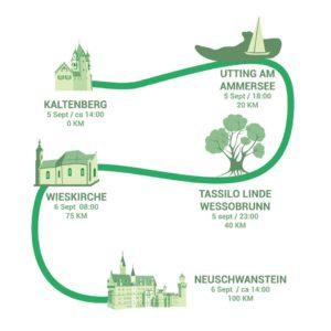 Route Löwenmarsch 2020