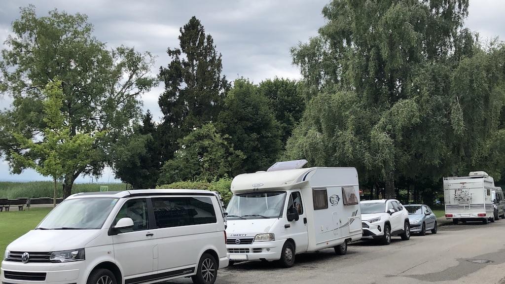 Parken in der Schondorfer Seeanlage
