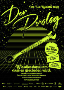Plakat Der Prolog, ELLE Kollektiv