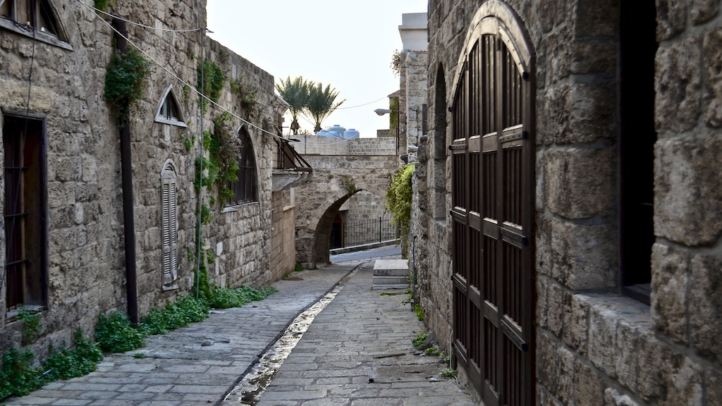 Gasse in Beirut