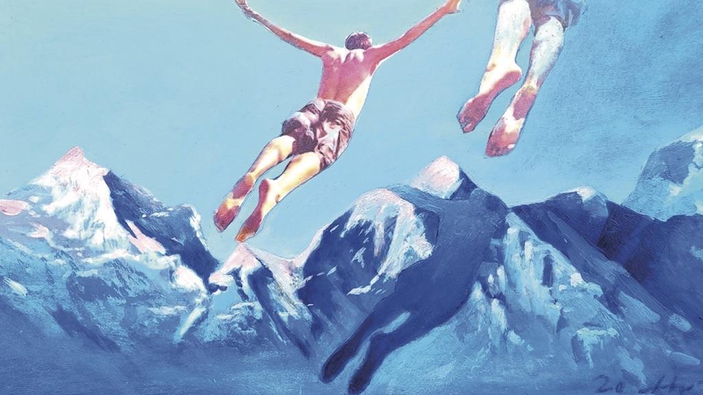 Springen: Christian Wahl