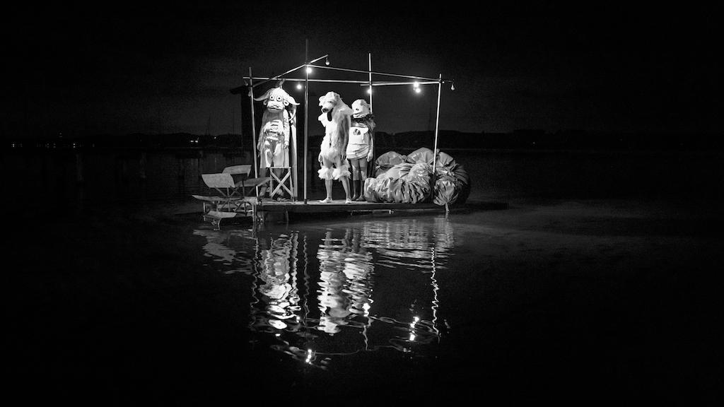 Der Prolog: Floß auf dem Ammersee