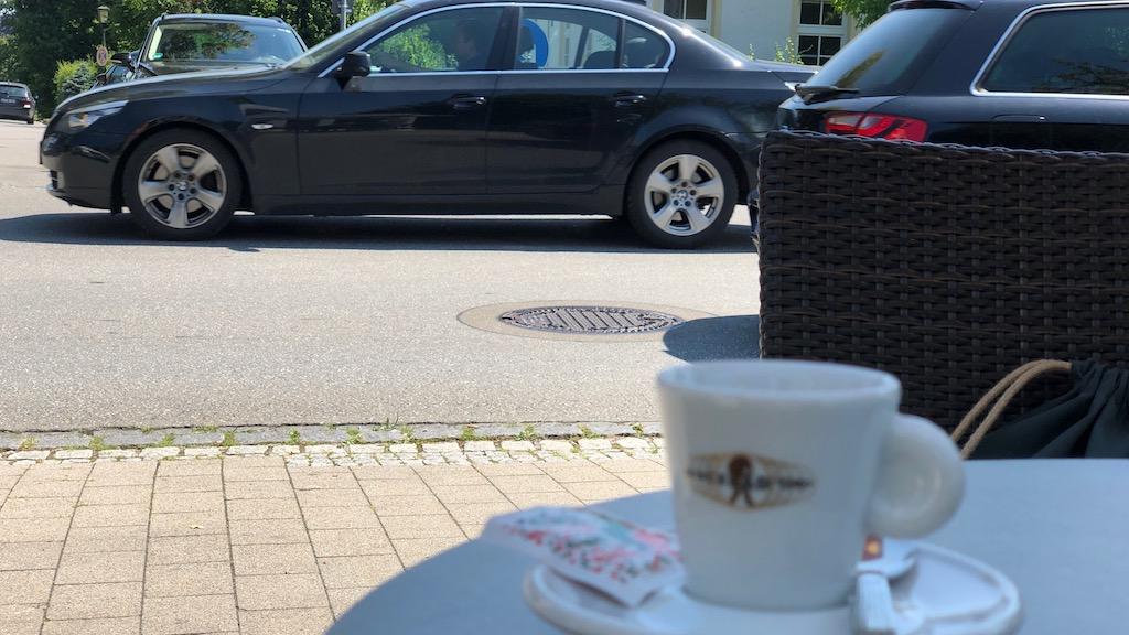 Verkehrszählung in Schondorf mit Espresso