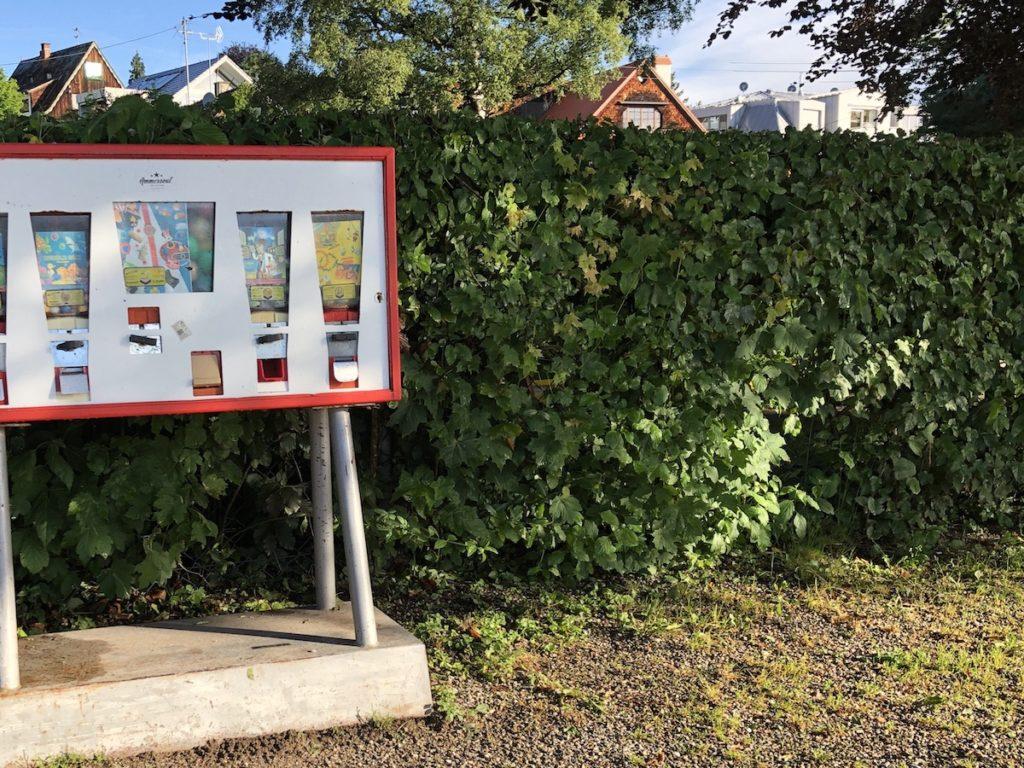 Kaugummiautomat in der Schondorfer seeanlage