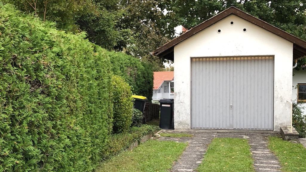 Was steckt in der Garage?