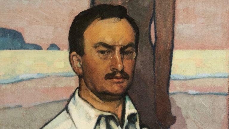 Der Maler Fritz Erler im Selbstbildnis
