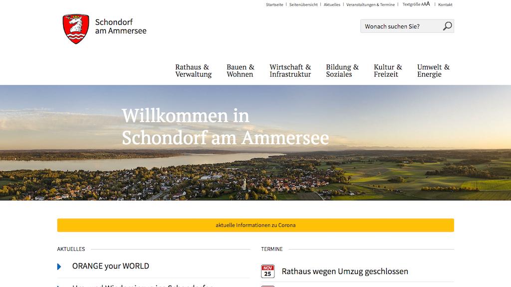Startseite schondorf-ammersee.de