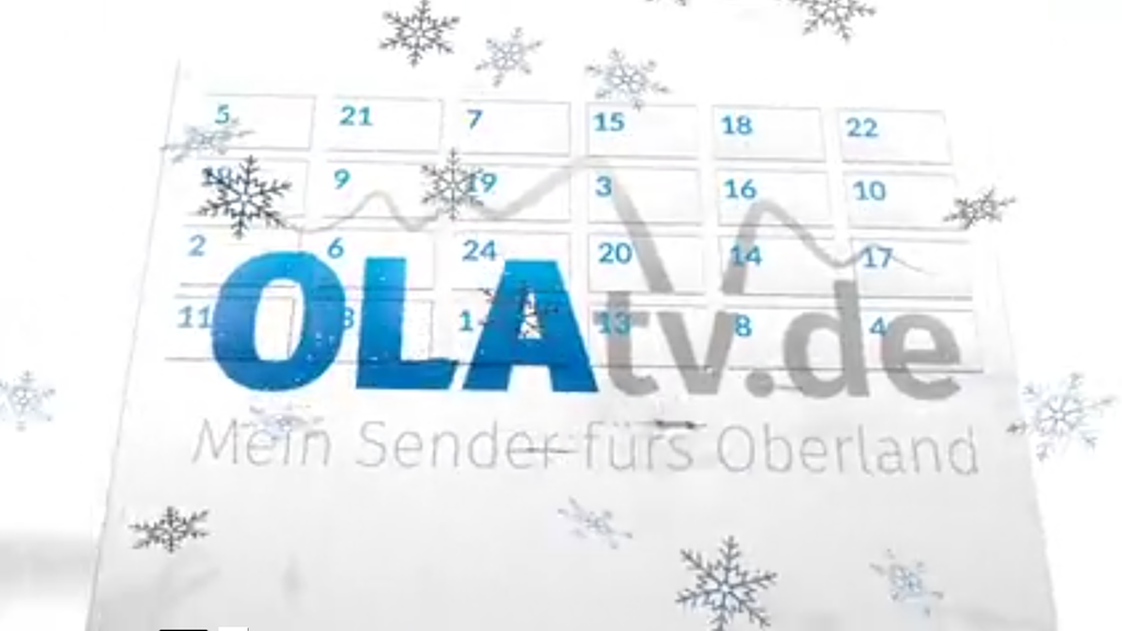 Benefiz-Adventskalender von OLAtv