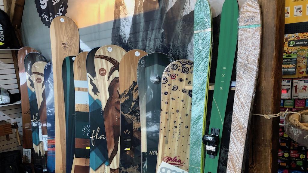 Ski und Snowboards von Good Boards