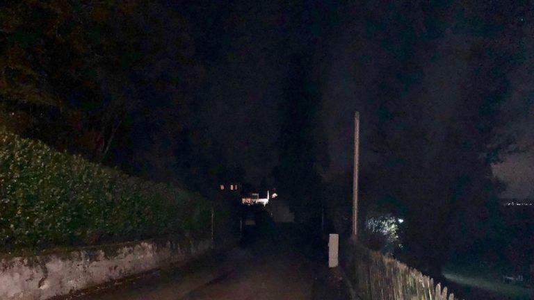 Defekte Straßenlampen in Schondorf
