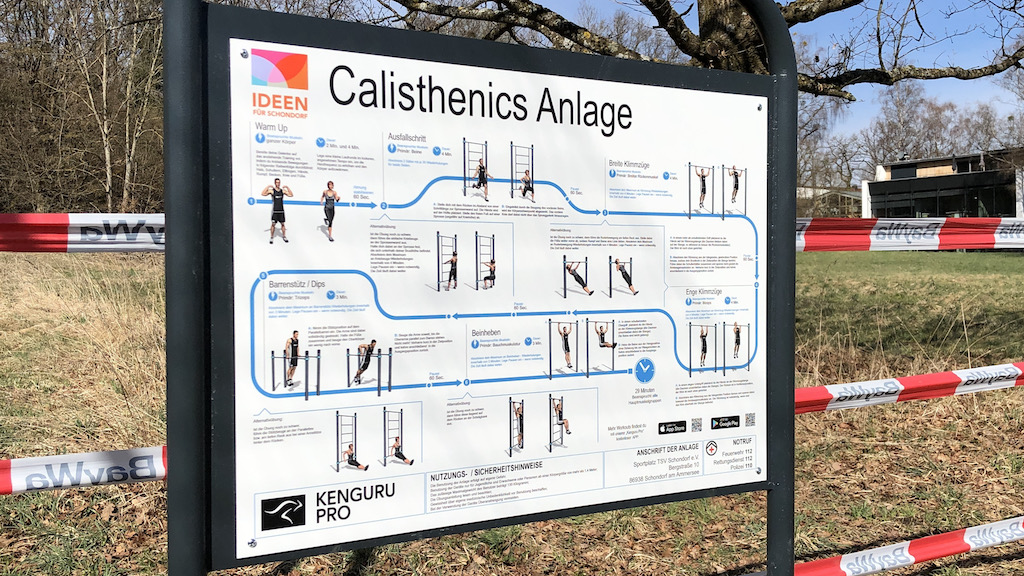 Calisthenics am Ammersee