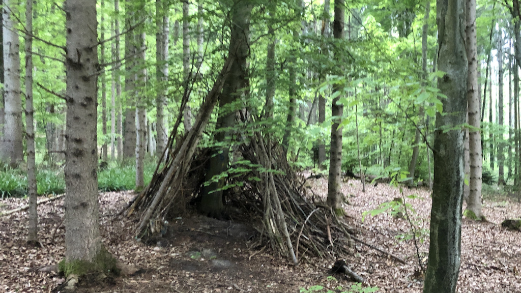 Tipi im Wald am Ammersee