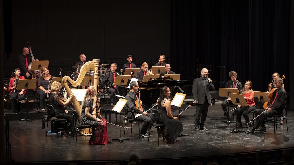 Salonorchester Bad Reichenhall bei der AmmerSeerenade 2021