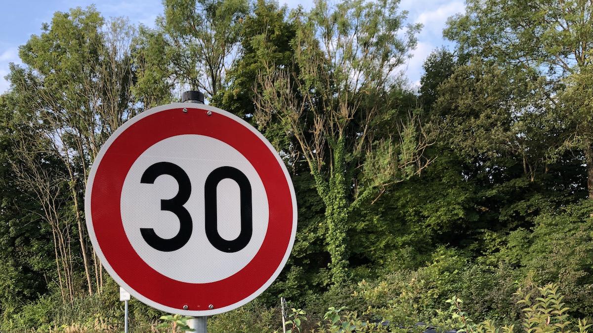 Tempo 30 in Schondorf