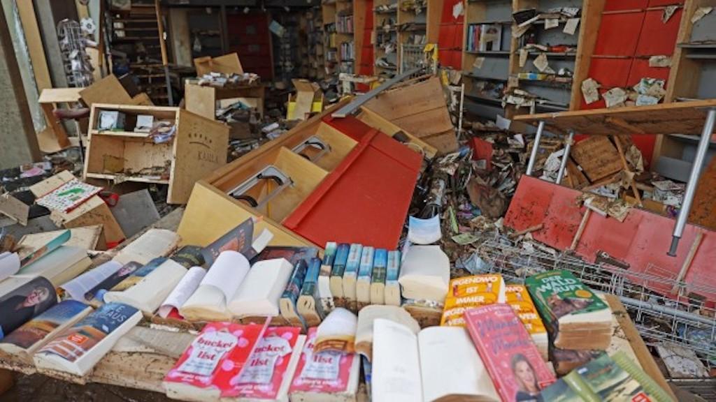 Buchhandlung Timbooktu hilft Hochwasseropfer